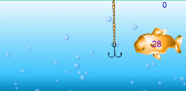 Rybky – Flashová hra